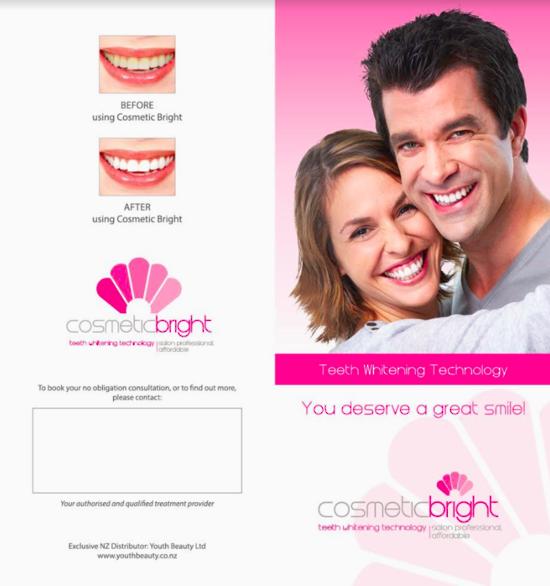 Professional Teeth Whitening Brite Light Led Cosmetic Bright